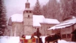 Clochers dans les neiges