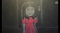 Girl in the Hallway