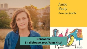Anne Pauly - Rencontre