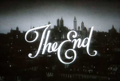 This is the end