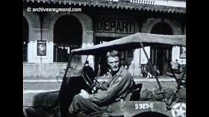 Les Américains à Grenoble le 22 Aout 1944