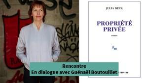 Julia Deck - Rencontre