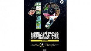 19 courts métrages, dessins animés, stop motions,clips