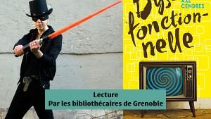 Avec Axl Cendres - Lecture