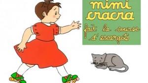 Mimi Cracra fait la course d'escargots